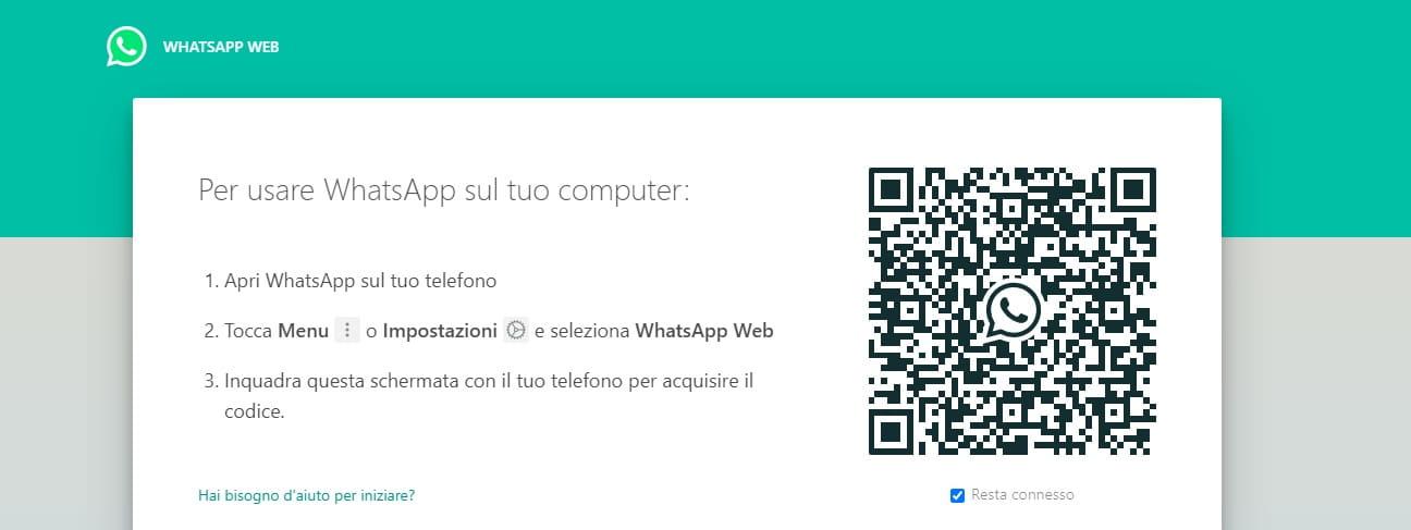 usare whatsapp