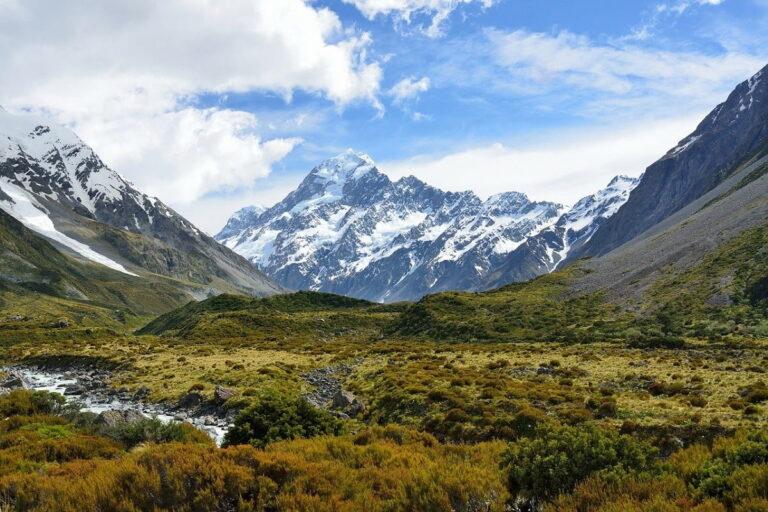 Strade panoramiche e viaggi su strada in Nuova Zelanda